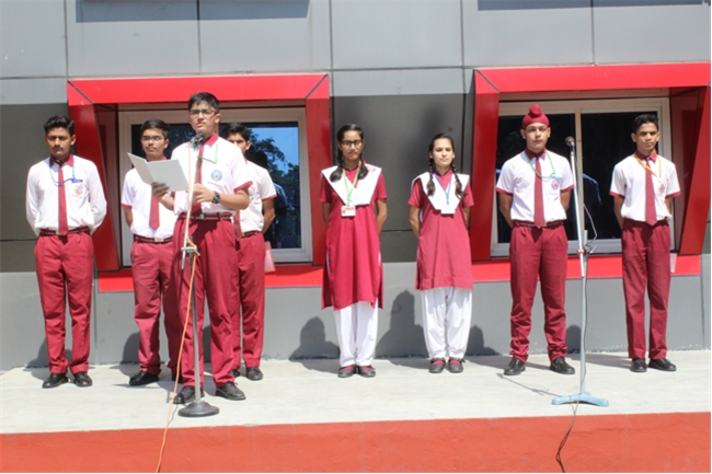 Morning Assembly of 11th October 2019