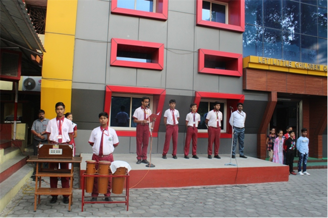 Morning Assembly of 15th October 2019
