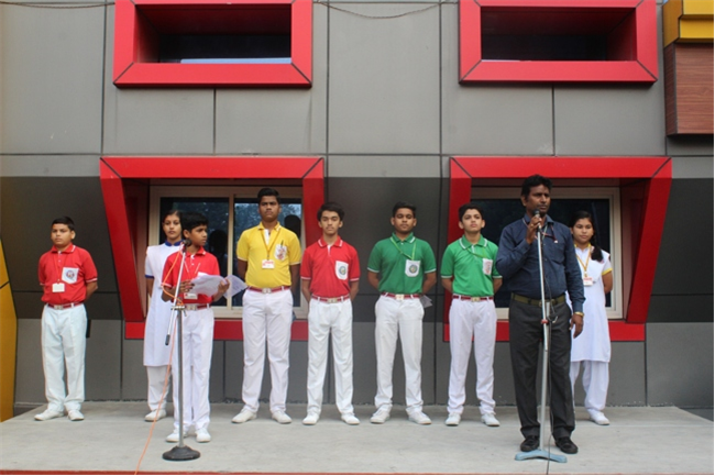 Morning Assembly of 16th October 2019