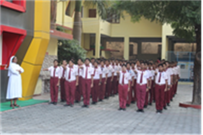 Morning Assembly of 17th Oct. 2019