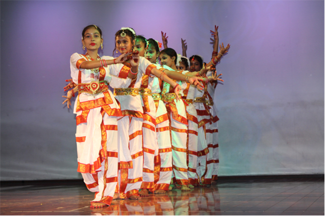 Inter House Semi Classical Dance & Collage Making Competition 2019