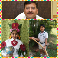 DPS Ranchi students spread the message to protect & love the Mother Earth on the Earth Day 2020