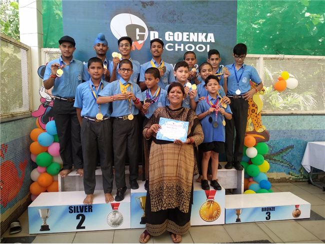 Inter School Swimming Championship
