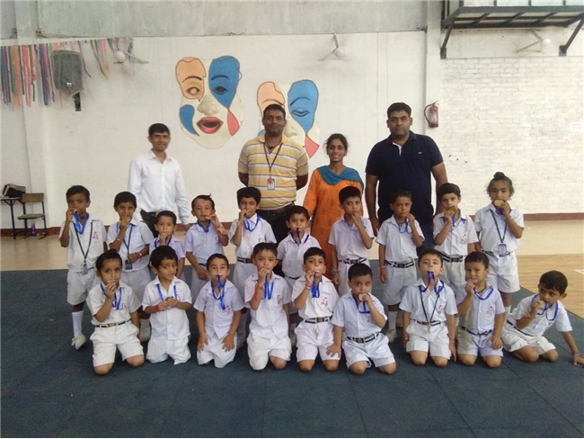 Sports Events For Classes  Nrs & KG