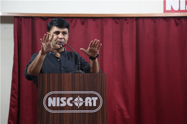 RJ Naved Radio Mirchi 98.3 at  NISCORT