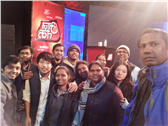 Visit to Aaj Tak Channel