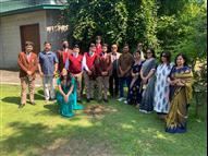 LPS Students meet Paralympian Manoj Sarkar...