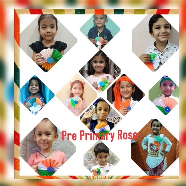 Pre Primary Independence Day activity