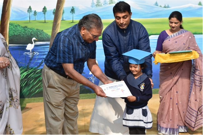 Nursery Graduation Ceremony