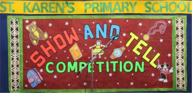 Inter House Show and Tell Competition