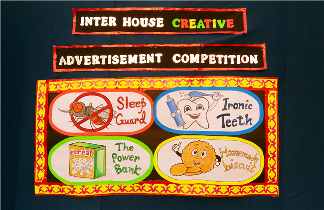 Inter House Creative Advertisement Competition