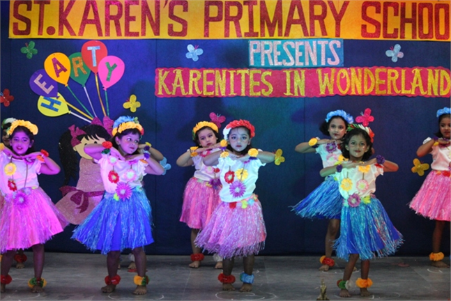 Kindergarten Rhyme & Action Song Competition