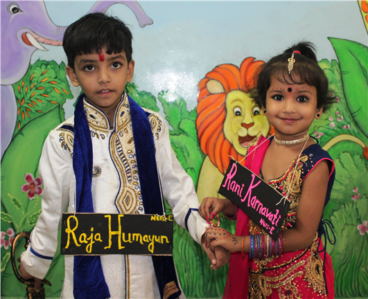 Rakshabandhan and Rakhi Making Activity